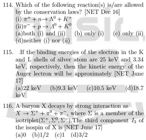 Nuclear and Particle Physics CSIR NET: Physicsguide